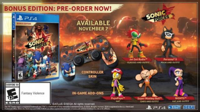 Игра Sonic Forces выйдет в ноябре