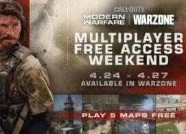 В мультиплеере Call of Duty: Modern Warfare пройдут бесплатные выходные