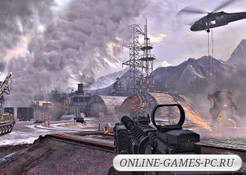игра шутер Call of Duty Modern Warfare