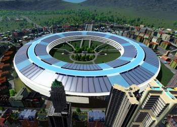 Расширение для градостроительного симулятора Cities: Skylines - Campus