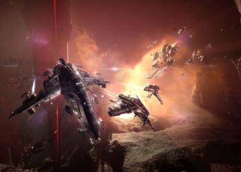 фэнтезийная компьютерная онлайн игра EVE Online