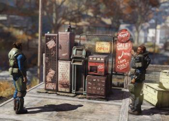 Следующее обновление экшена Fallout 76 позволит вам запустить магазин