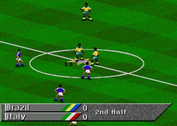 Компьютерная игра FIFA Soccer 95. Как по телевизору