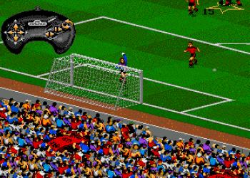 Компьютерная футбольная игра FIFA Soccer 95. Геймплей