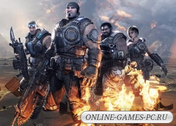 игра шутер Gears of War 3