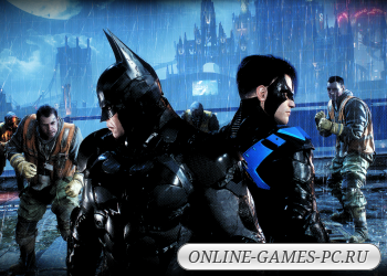 компьютерная игра Gotham Knights