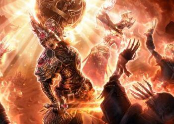 Расширение компьютерной игры Grim Dawn: Forgotten Gods