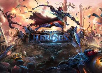 компьютерная онлайн игра Heroes of the Storm