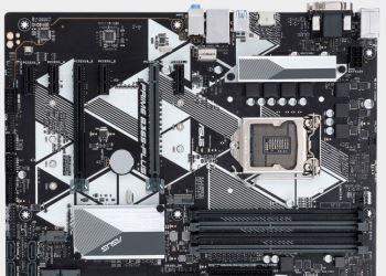 Asus представляет материнскую плату на основе Intel