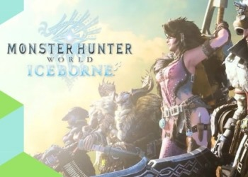 игра экшен Monster Hunter World Iceborne