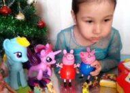 Распаковка игрушек