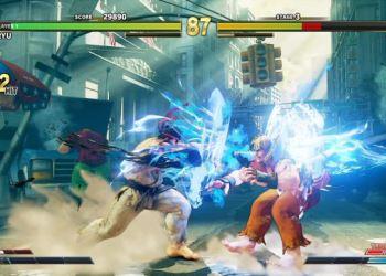 компьютерная игра драка Street Fighter 5