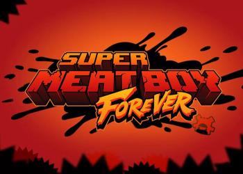 """Компьютерная игра Super Meat Boy Forever будет иметь """"смехотворно жесткий"""" DLC"""
