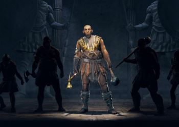 Assassin's Creed Odyssey представляет нового наемника Testiklos The Nut