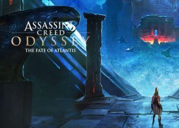 Экшен-приключение Assassin's Creed Odyssey запускает DLC The Fate of Atlantis