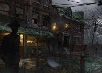 Компьютерная игра The Sinking City. Город, где начался потоп