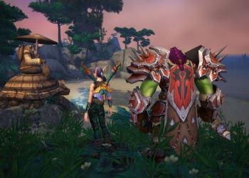 фэнтезийная компьютерная игра World of Warcraft