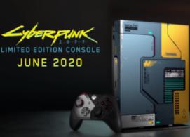 Официально презентована версия Xbox One X в стиле Cyberpunk 2077